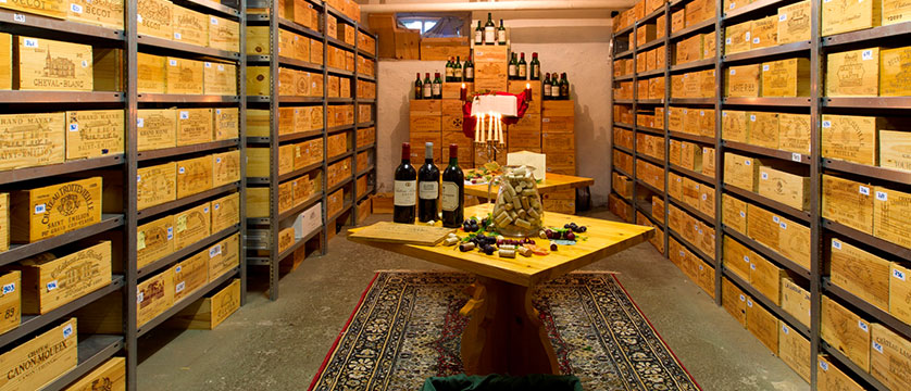 Hotel Wengenerhof, Wengen, Bernese Oberland, Switzerland - wine cellar.jpg